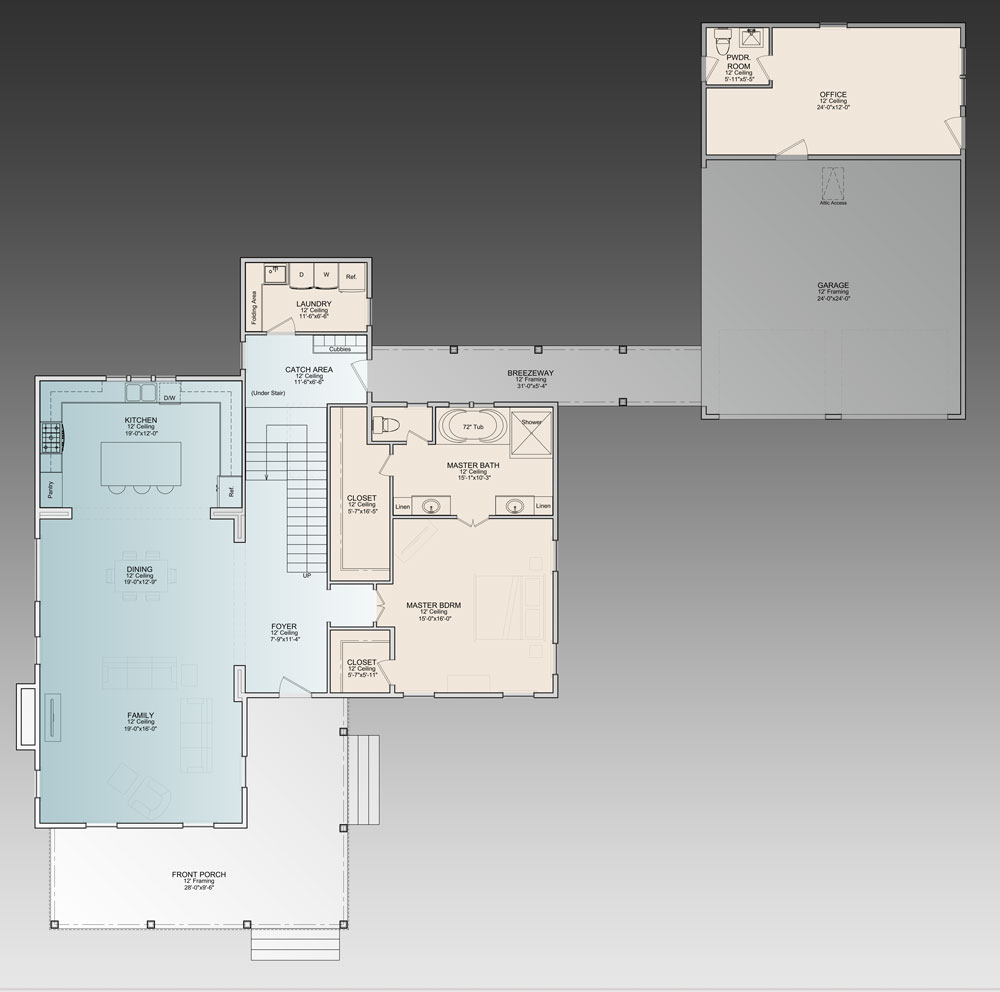 Floor Plan For A House design kitchen New in House Designer Room