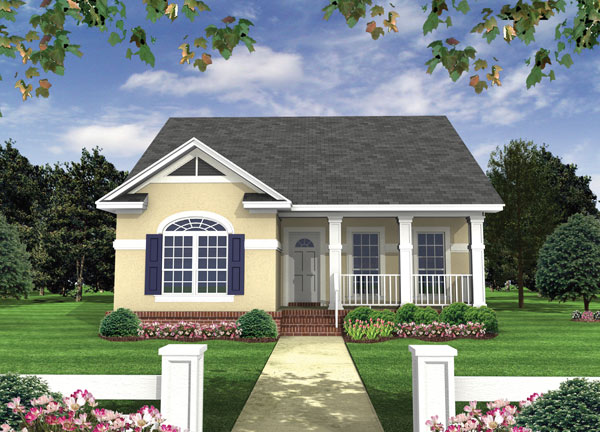 House Plan 6708: Small Ranch