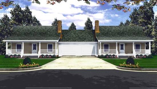 image of The Timberway House Plan