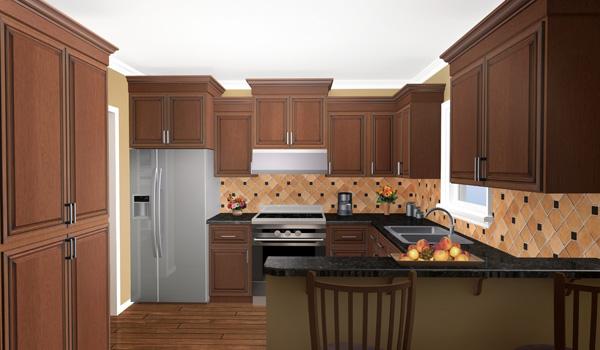 The wilson creek 7138 3 bedrooms and 2 5 baths the - Planos de cocinas modernas ...