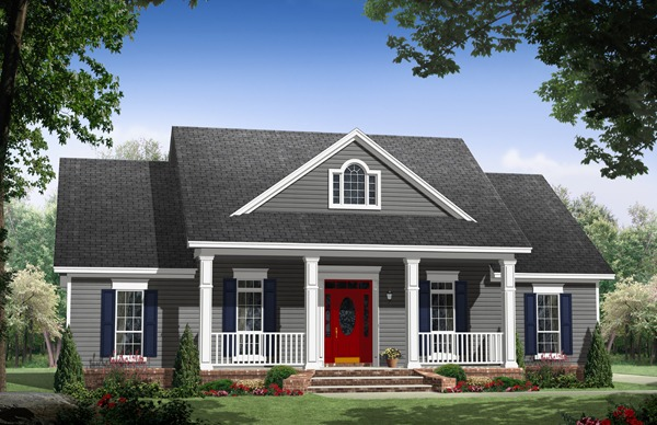 House Plan 9185: Small Craftsman