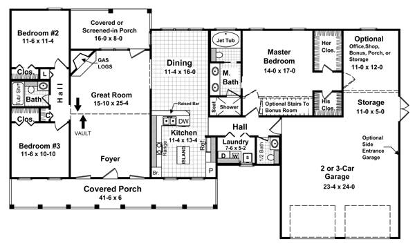 The Walnut Grove 7092 3 Bedrooms And 2 Baths The House