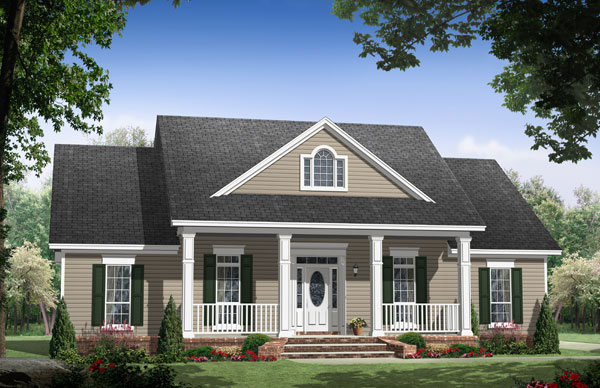 The Briarwood 7642 - 3 Bedrooms and 2.5 Baths | The House Designers
