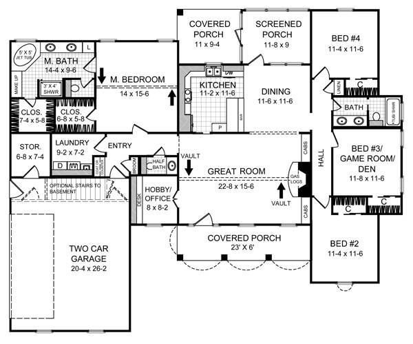 Hunter's Ridge 5720 - 4 Bedrooms And 2 Baths