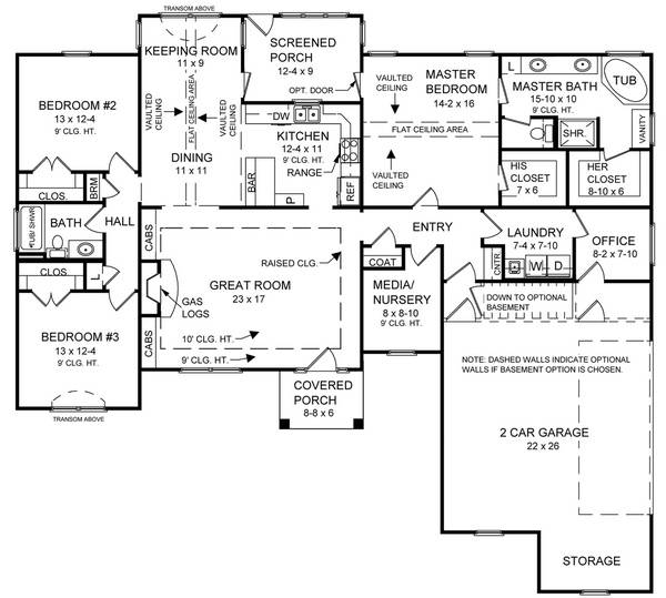 2000 Sq Ft House Floor Plans House Design Plans