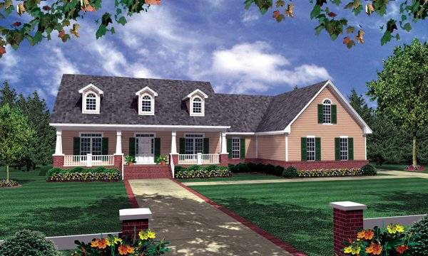 The Stonebridge 5764 3 Bedrooms And 2 Baths The House Designers