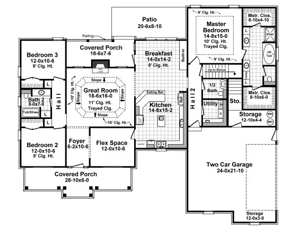 1st Level Floorplan