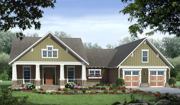 Featured Home Design. 3D House Plans