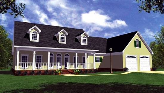image of The Ranch House Plan