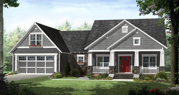 Affordable floor plan that has it all, including four oversized bedrooms.