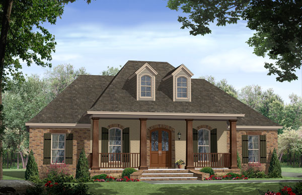 The avondale court 7683 4 bedrooms and 2 baths the Avondale house plan