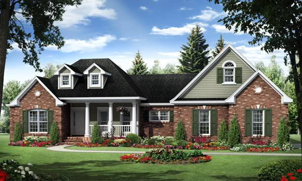 The kensington 1025 4 bedrooms and 2 baths the house for Family house plans with photos