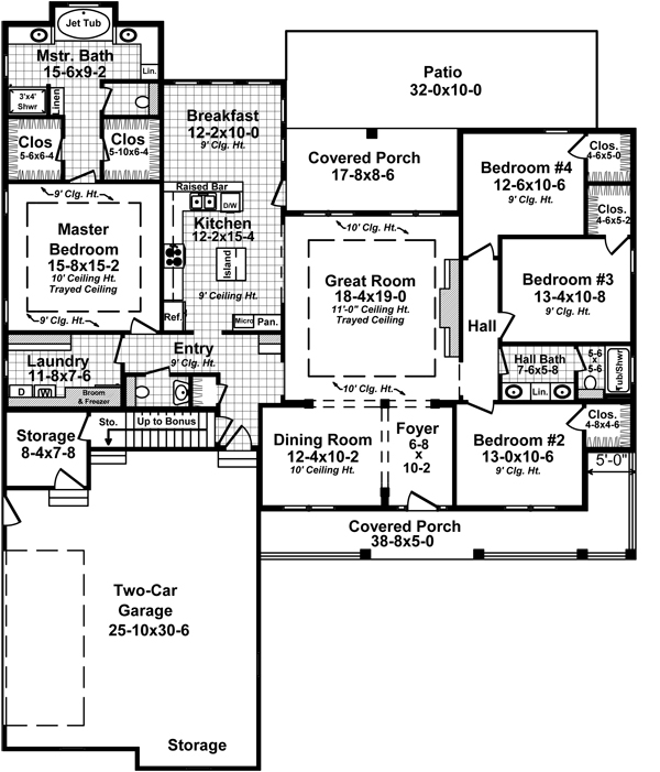 Fairmount avenue 5279 4 bedrooms and 2 baths the house - Traditional neighborhood design house plans ...
