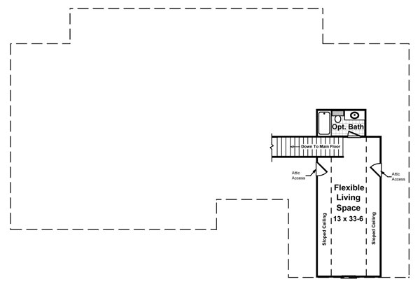 2nd Level Floorplan