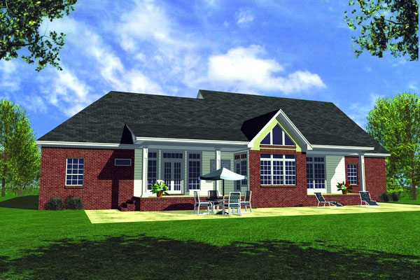 The all american 5878 3 bedrooms and 3 5 baths the for All american homes floor plans