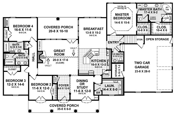 The Magnolia 5879 4 Bedrooms And 3 Baths The House