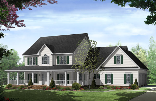 New england inspired homes the house designers for House plans england