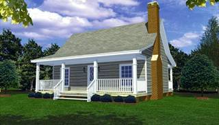 image of Country Porches House Plan