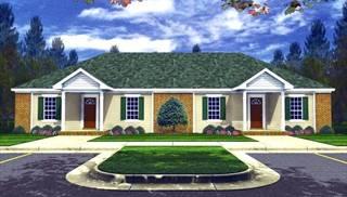 Multi family house plans duplex apartments townhouse for Multi family house plans apartment