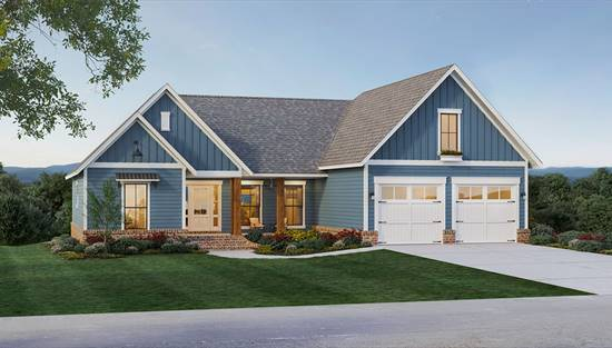 image of The Pine Hills House Plan