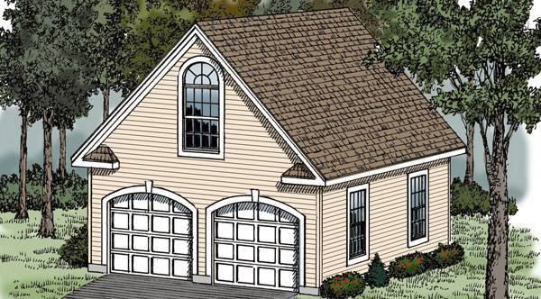Victorian garage 5136 the house designers for Victorian garage plans