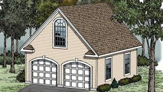 image of VICTORIAN GARAGE House Plan