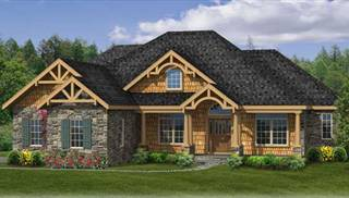 image of sturbridge ii c house plan - Craftsman House Plans