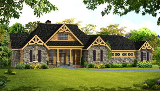 image of LEWISVILLE II House Plan