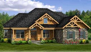 image of sturbridge ii 3car walk out house plan