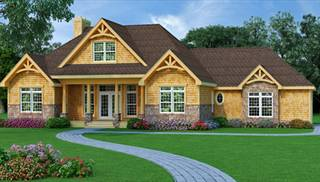 One-Story House Plans & Blueprints such as ranch style