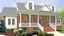 Country house plans - The Delafield