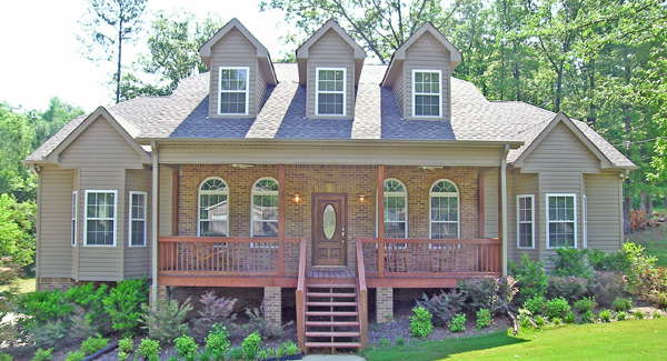 Traditional house plan-Marietta