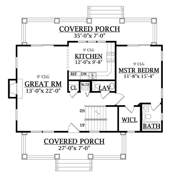 Cottage Home Plans - Cottage Style Home Designs from HomePlans.com