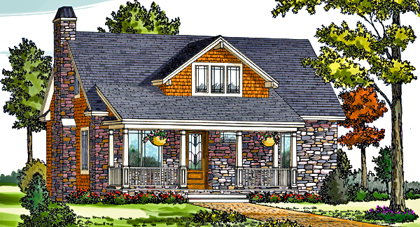 Craftsman Cottage 6643 3 Bedrooms And 2 Baths The