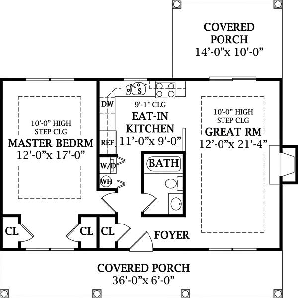 Cottage, cabin & small country home plans you can modify