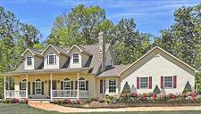 Farmhouse house plans - Ludlow II