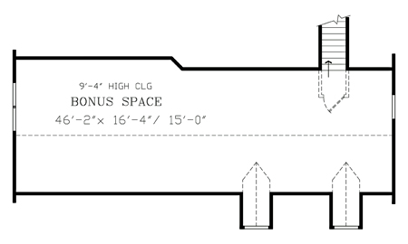 Bonus Second Floor Plan image of RICHMOND House Plan