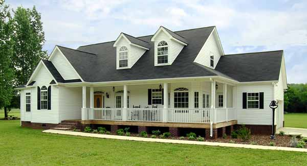 Richmond 2800 3 bedrooms and 2 5 baths the house designers for Southfork house plan