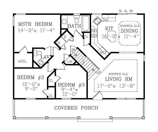 asheville small cottage 3800 3 bedrooms and 2 5 baths one story with basement house plans house design ideas