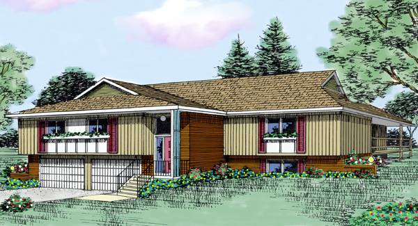 Rosewood 3436 3 bedrooms and 2 5 baths the house designers for Rosewood house plan