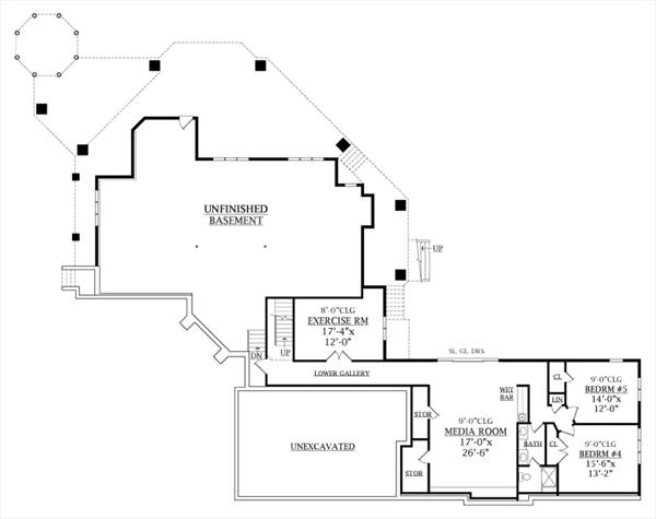 Top plans house