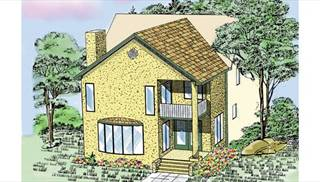 image of New Family Room & Master Suite (KFBR3) House Plan