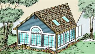 image of Great New Sun Porch (P0001) House Plan
