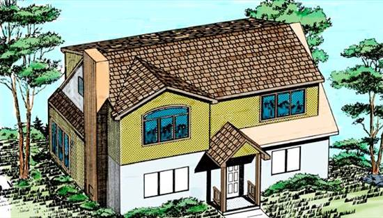 image of Add a Second Floor (CAP04) House Plan