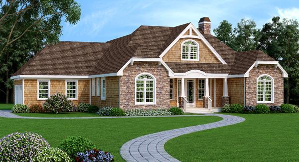 Liberty Hill Ranch House Plan