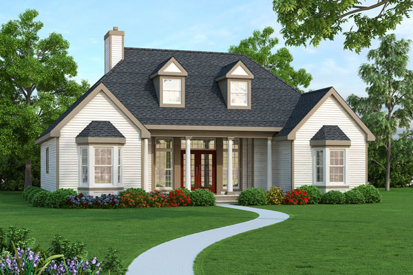 Three bedroom house plan house plans and architecture for House designers house plans