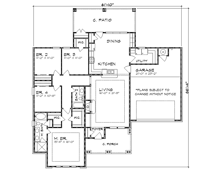 The Addison 4223 4 Bedrooms And 2 5 Baths The House