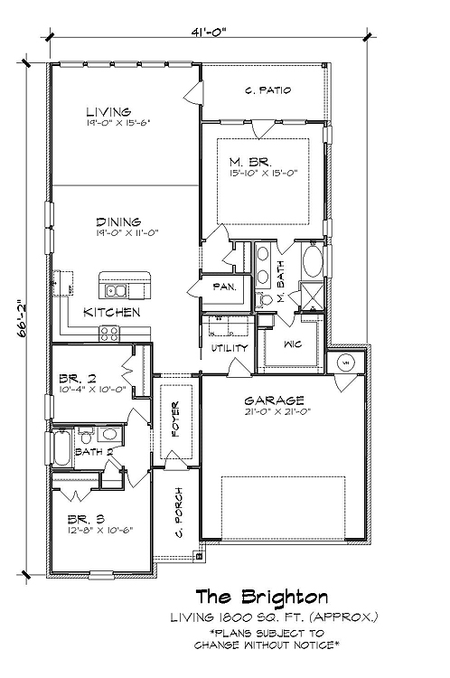 The Brighton 4810 3 Bedrooms And 2 5 Baths The House