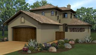 Mediterranean House Designs Exterior signature contemporary exterior front elevation plan 930 475 Image Of The Capistrano House Plan