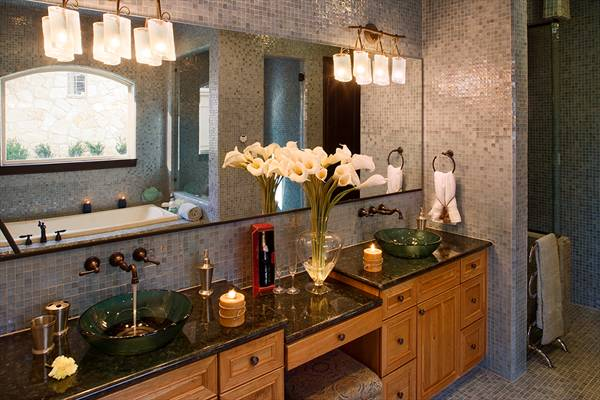 Sizzling Kitchen and Bath Designs - The